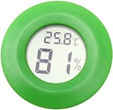 Medidor de humedad para sonda de temperatura con sensor de higrómetro termómetro digital para mascotas