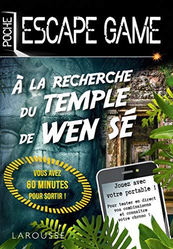 Escape Game de Poche - À la recherche du temple de Wen Sé