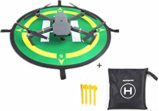 Air /& Spark Helipad Tarmac Drohne Zubeh/ör VvXx Mavic Landepad Parksch/ürze f/ür Papageien Anafi Mavic 2 Pro