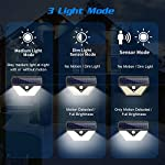 [4 Pack] Solar Lights Outdoor, Trswyop 136LED Solar Security Lights Motion Sensor with 3 Lighting Modes, 270°Wide Angle,1400 Lumens Solar Powered Lights Wall Lights for Outside 3