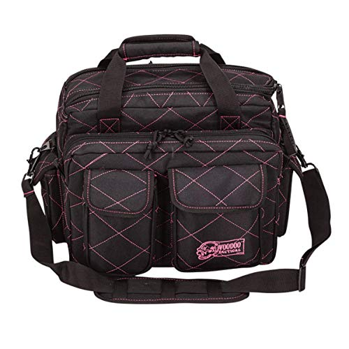 VooDoo Tactical Standard Scorpion Range Bag - Lady Voodoo Custom Series, Black/Pink