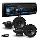 Alpine UTE-73BT Receiver with Bluetooth & 2 Pair of Alpine S-S65 S-Series 6.5' Speakers