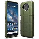 Sucnakp Nokia 8.3 5G Case Nokia 8V Case Nokia 8.3 Case Heavy Duty Shock Absorption Phone Cases Impact Resistant Protective Cover for Nokia 8.3 5G(New Army Green)