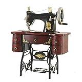 GFEI Nostalgia antigua maquina de coser modelo / retro tienda de decoración de ventanas hierro PROPS / Muebles...