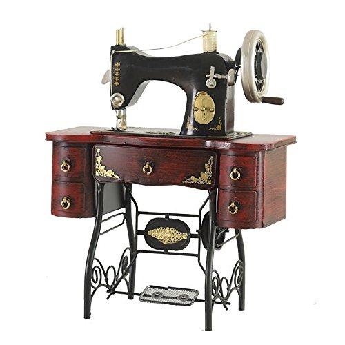 GFEI Nostalgia antigua maquina de coser modelo / retro tienda de decoración de ventanas hierro PROPS / Muebles Decoracion