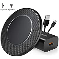 Choetech 15W Max Fast Wireless Charging Pad with QC 3.0 Adapter