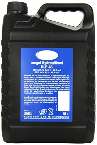 Meguin 8685 Megol Hydrauliköl HLP 46, 5 L