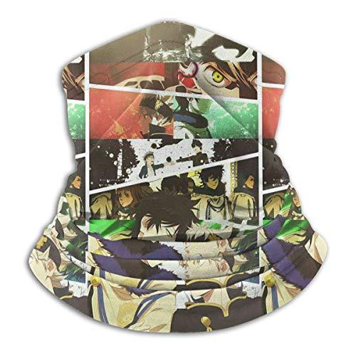 NA Unisexe sans Couture Visage Noir trèfle Travail Couverture de Visage réutilisable Cou guêtre pour Plage color5