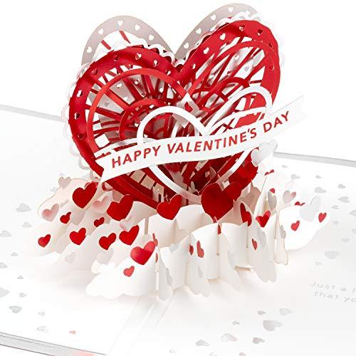 Hallmark Signature Paper Wonder Pop Up Valentines Day Card (Love You)