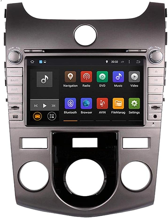 Special price Silver Android 10.0 System 8 inch Car HD DVD GPS Same day shipping 1024600 Nag