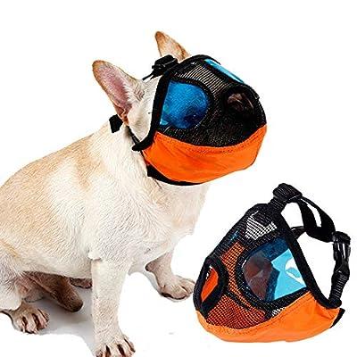 Petneces Dog Muzzle for Anti Biting Barking Pet Mouth Mask Anti Barking and Biting Mesh Muzzles from Petneces-1