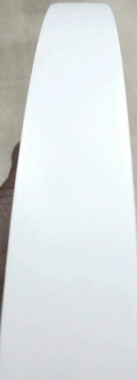 White PVC edgebanding 15/16