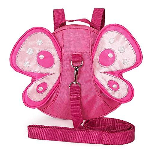 Zicac 2in 1zaino con legame lascia Anti-perso 3d Ali di farfalla per bambino bambino bambino on Passeggiata uscita con portiere