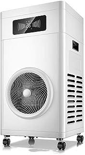 Calefactores Cerámica tranquila del ventilador del calentador Calentador de espacios, 12 horas temporizador y 2 ajustes de calor y termostato de seguridad de Corte, Perfecto for Oficina y Hogar Dormit