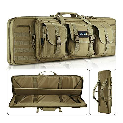 CHAMPS Rifle Case Bag, Double Rifle, Gun Case, Water...
