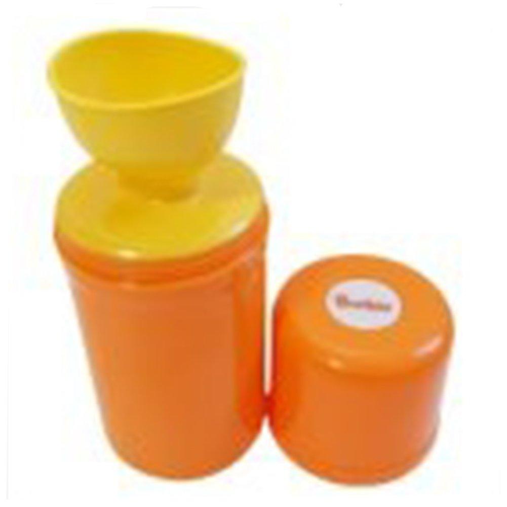 Budsia Unisex Baby Kids Child Portable Urinal Potty Bottle (Orange)