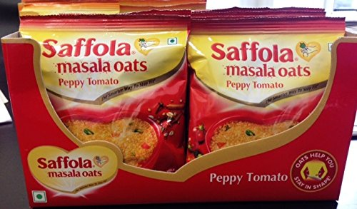 Saffola Classic Oats - Peppy Tomato - 40 grams - Pack of 12