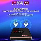 2019最新のEvpad 3 PLUS TVボックス2.4G 5G WIFIネットワークHONGKONG TAIWAN CHINA JAPAN US LIVE CHANNE