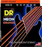 DR String NOE-10 Neon Orange Juego Cuerdas Eléctrica