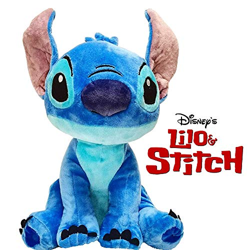 Play by Play Peluche Soft Stitch Disney con Sonido 30cm - (