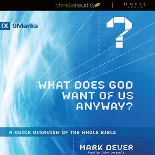 What Does God Want of Us Anyway? audiobook cover art