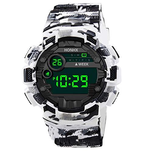 Moda sport orologio da uomo orologi digitali da esterno LED orologio da polso militare di lusso elettronico orologio da polso da uomo 618