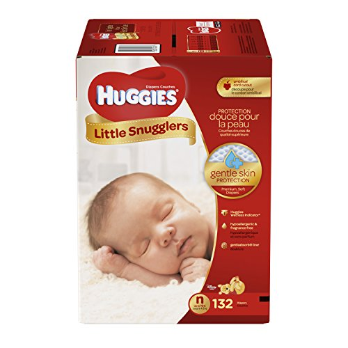 Branded HUGGIES Little Snugglers Diapers, Size Newborn, Weight 10lbs - Branded Diapers with Fast delivery (Soft and Comfortable for Babies)