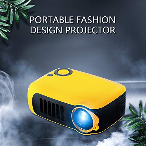 Home Mini Pocket Projector,iRULU Portable Movie Theater Projector with HDMI,USB,HiFi Speaker Support 1080P HD LED Entertainment Projector for Home,Outdoor,Theater Children