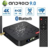 Android 9.0 TV Box 【4GB RAM+32GB ROM】 Android...