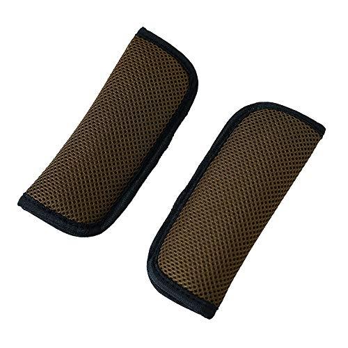 Yworld autostoel- en kinderwagenriemhoezen, 2 stuks universeel zitbandkussen voor kinderwagens, geschikt voor nek en schouder in de kinderwagen tijdens het slapen voor kinderen BRON