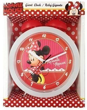 Disney Minnie Mouse Giant Bell Réveil de Table de chevet