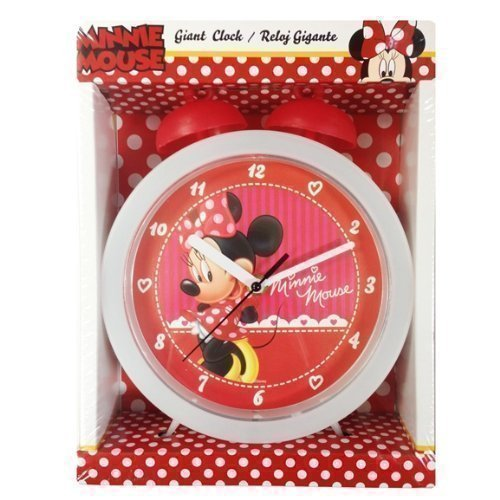 Disney Minnie Mouse Giant Bell Réveil de Table de chevet