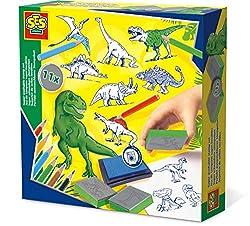 6. SES Creative Dinosaur Stamp Set