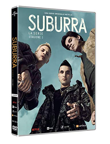 Suburra - Stagione 01 (3 Dvd) [Italia]