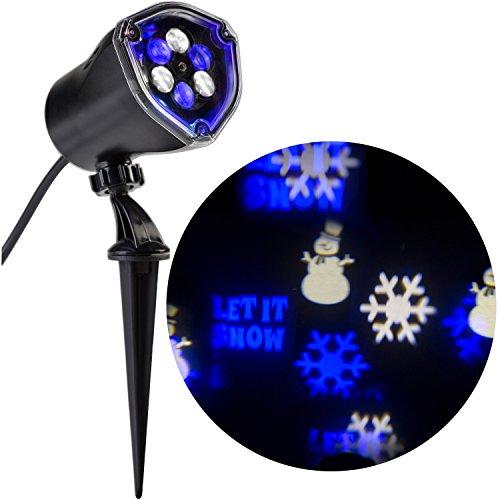Gemmy LED LightShow Projection Blue/White