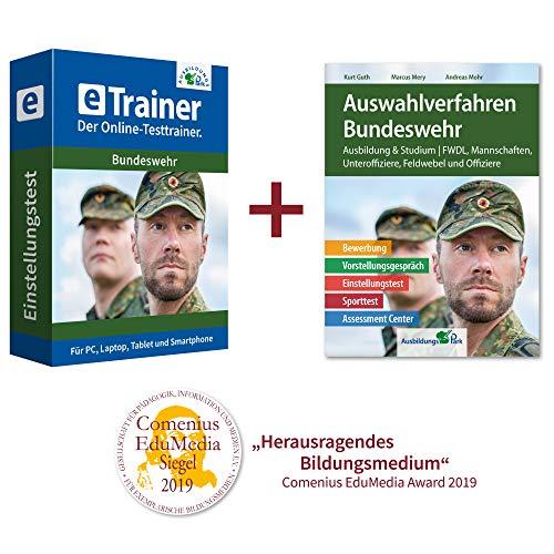 Bundeswehr Komplettpaket: Auswahlverfahren + Online-Testtrainer   Bewerbung, Einstellungstest, Vorstellungsgespräch, Sporttest, Assessment Center – alles in einem Paket!