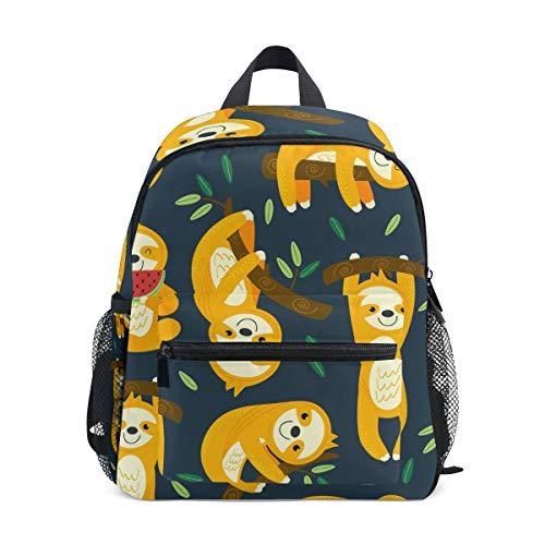Kinderrucksack Lustige Faultiere Kindergarten Vorschul Tasche für Kleinkind Mädchen Jungen