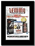 gasolinerainbows Motorhead - Lemmy DVD Promo de la revista del Reino Unido en un monte negro