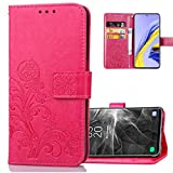 COTDINFOR Compatible with LG K22 Cover Flip Case Lucky