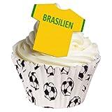 12 camisas comestibles de fútbol - Equipos internacionales. Utiliza el menú desplegable para encontrar a tu equipo.