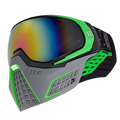 HK Army KLR Goggles - Slate Series - Black/Green