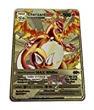 Charizard DX Pokémon Gold Card - Collector's Rare Shiny Gold Card - Limited Supply