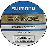 Shimano Exage 1000m 0,255mm 5,50kg Angelschnur Monofile Schnur Monoschnur Monofil Mono Line