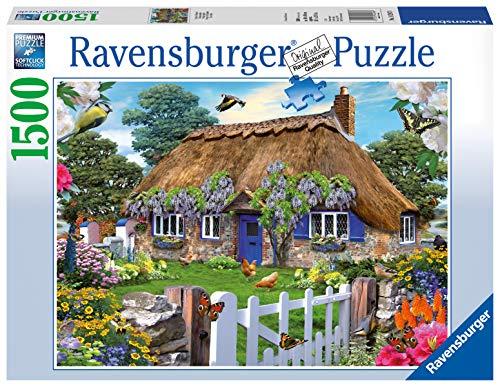 Ravensburger - 16297 0 - Puzzle - Cottage Anglais - 1500 Pièces