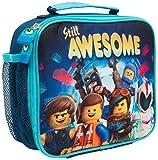Bolsa Merienda Infantil Niño Lego Movie 2 Batman con Bolsillo Fiambrera Infantil para Niños