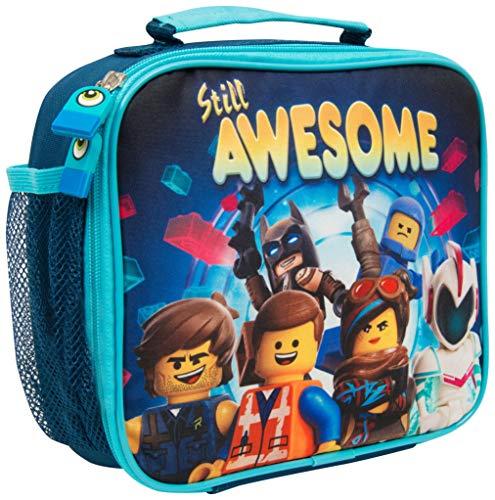 Bolsa Merienda Infantil Niño Lego Movie 2 Batman con Bolsillo Fiambrera Infantil...