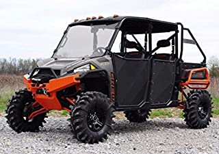 SuperATV Aluminum Half Doors for Polaris Ranger XP 900 Crew (2013+) - Set of 4