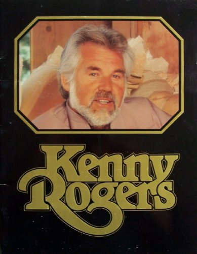 KENNY ROGERS [ 1984, Souvenir Scrapbook ] Kenny Rogers Productions (Kenny Rogers presented by Dodge Trucks)