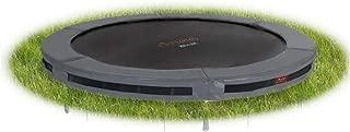 Avyna Pro-Line In-Ground Trampoline – 14-Foot Diameter Round - Forest Green