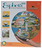 3D Esphera 360 9in Hometown Lighthouse Globe Puzzle 540pc